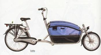 Gazelle Cabby MPB bakfiets